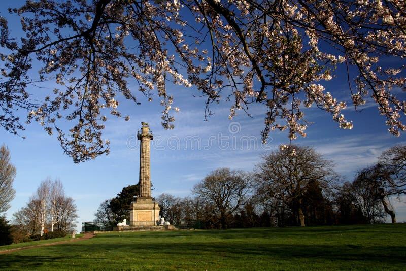 Monument de Percy image libre de droits