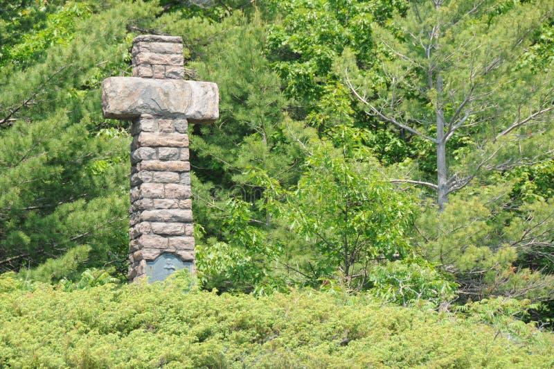 Monument de Samuel de Champlain photo libre de droits