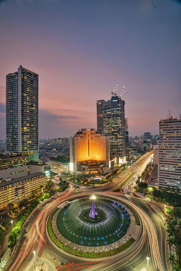 Monument de Selamat Datang photo libre de droits