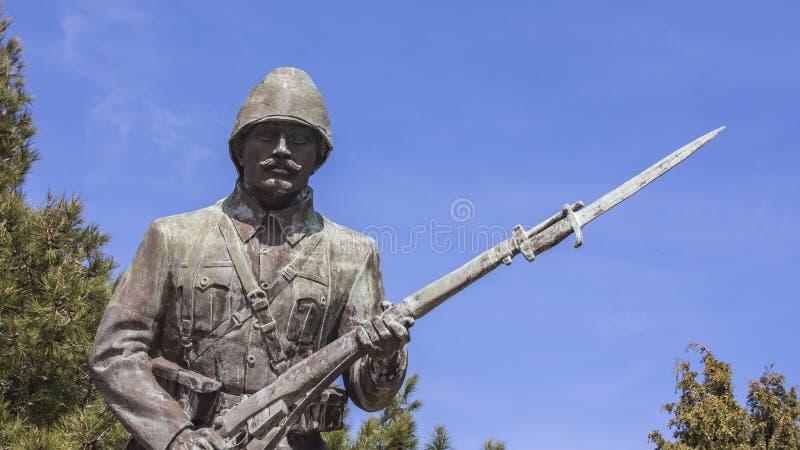 Monument de soldat inconnu image libre de droits