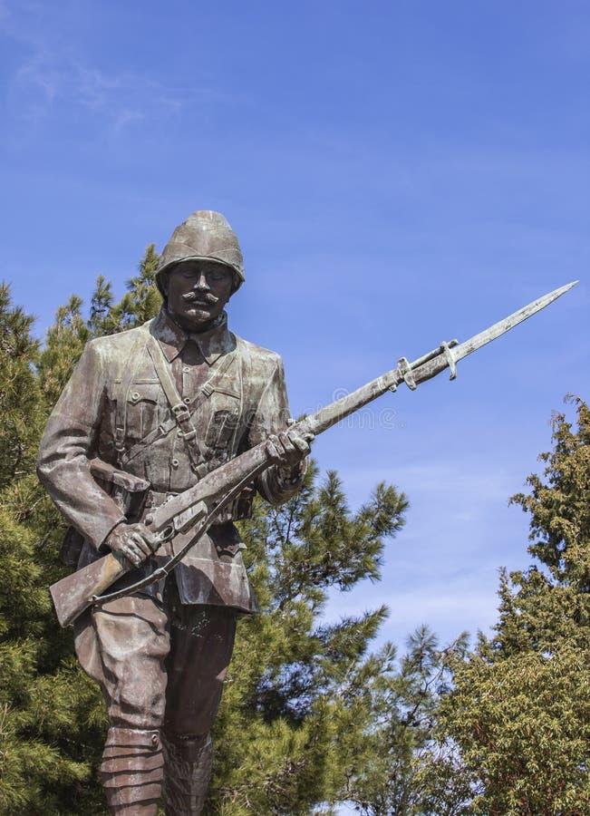 Monument de soldat inconnu photographie stock libre de droits