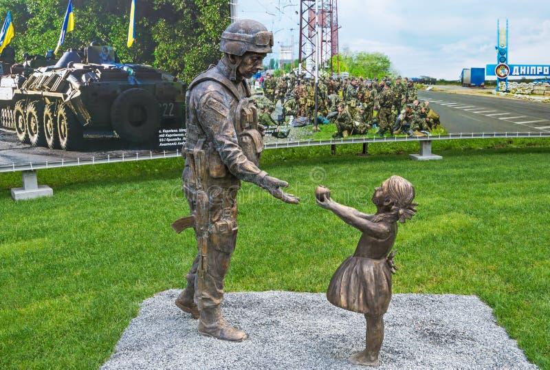 Monument de soldats de l'ATO photographie stock libre de droits