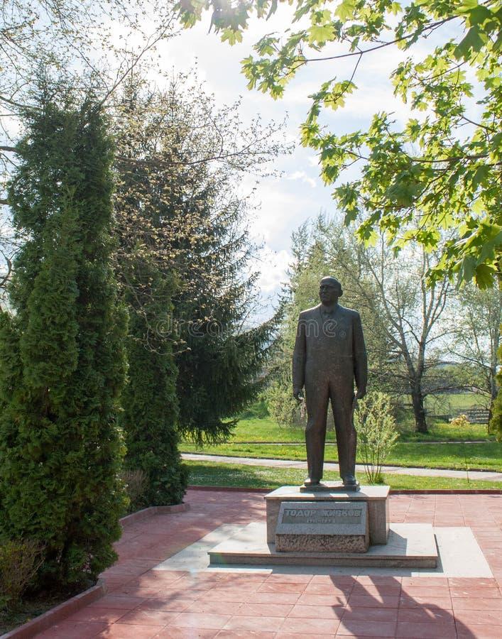 Monument de Todor Zhivkov photos stock