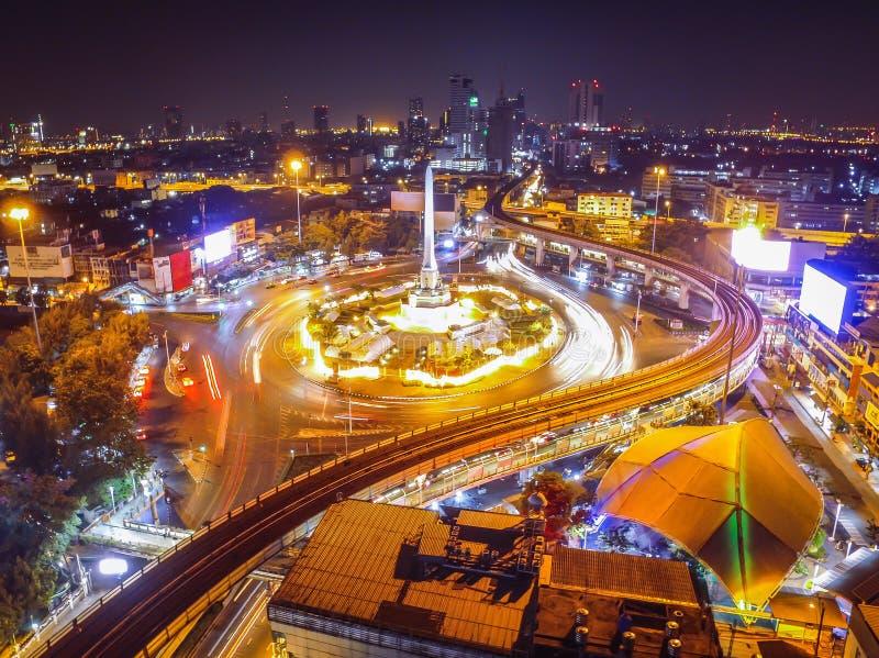 Monument de victoire de Bangkok images stock