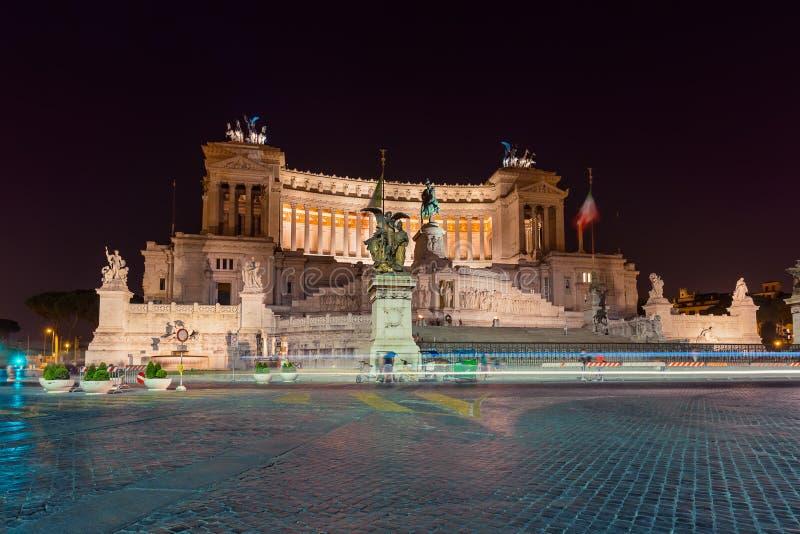 Monument de Vittorio Emanuele II à Rome Italie images libres de droits