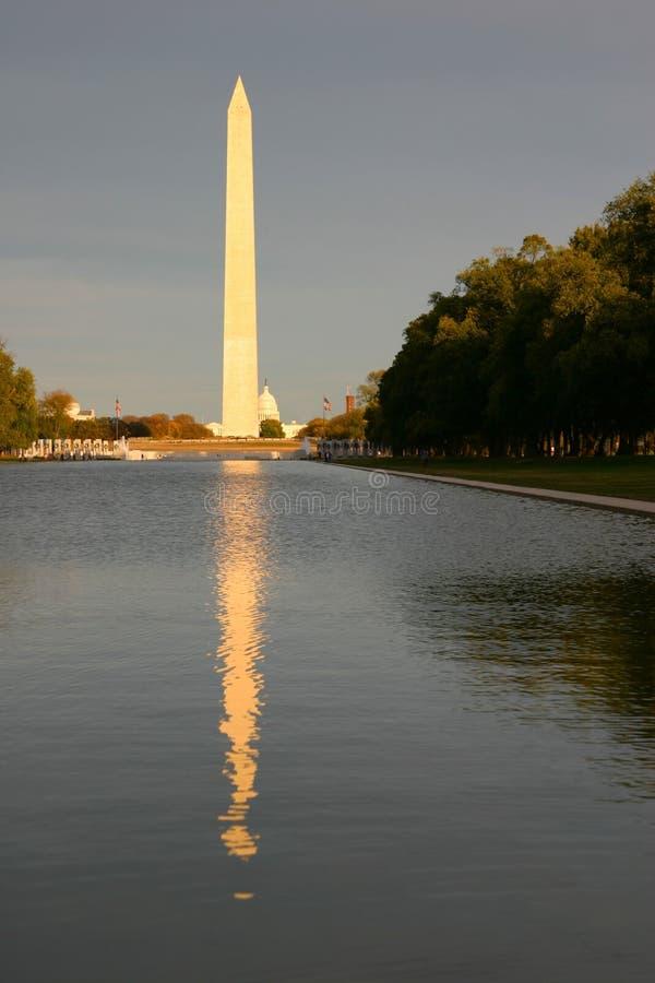 Monument de Washington photo stock