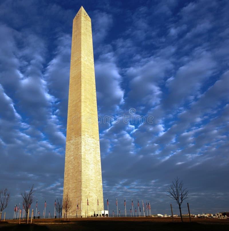 Monument de Washington DC images libres de droits