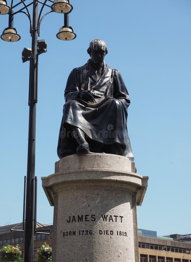 Monument de watt à Glasgow photos stock