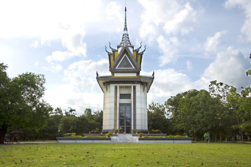 Monument de zone de massacre photo libre de droits