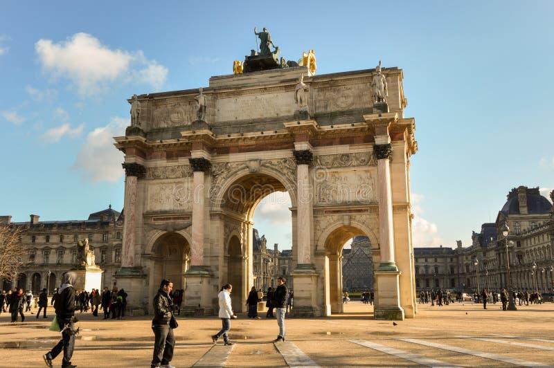 Monument an den Jalousien Museum, Paris, Frankreich lizenzfreie stockbilder