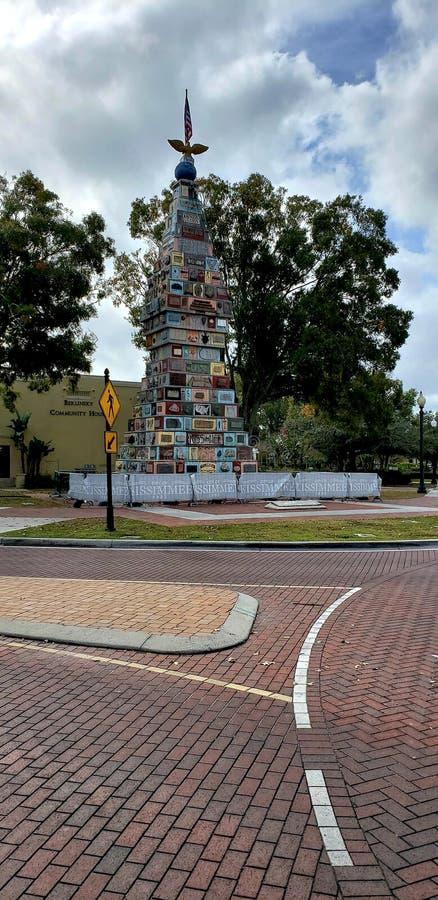 Monument des états photographie stock libre de droits