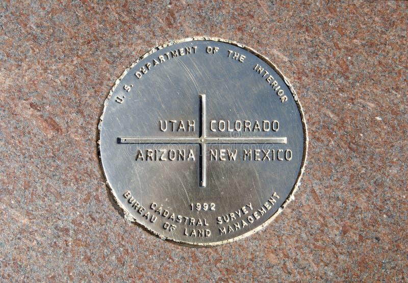 monument des coins quatre photo stock