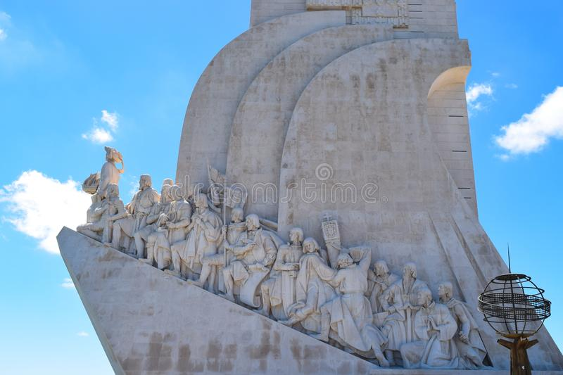Monument des d?couvreurs images stock