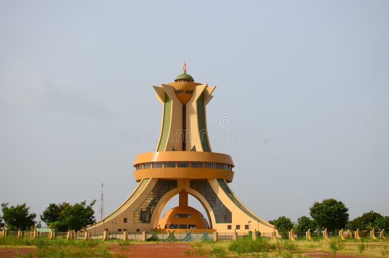 Monument des Martyrs Ouagadougou Μπουρκίνα Φάσο στοκ εικόνα με δικαίωμα ελεύθερης χρήσης