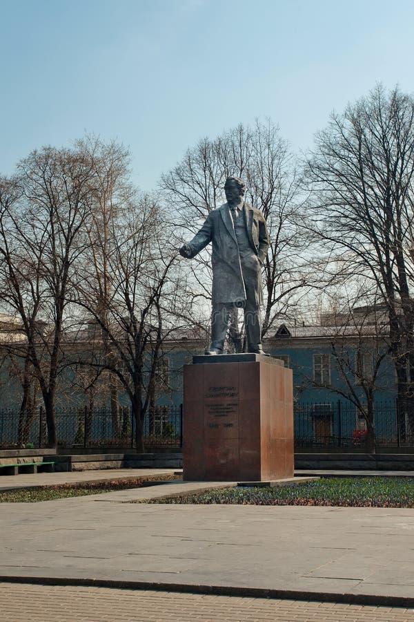 Monument du chef bulgare des communistes Georgy Dimitrov dans le MOIS photos stock