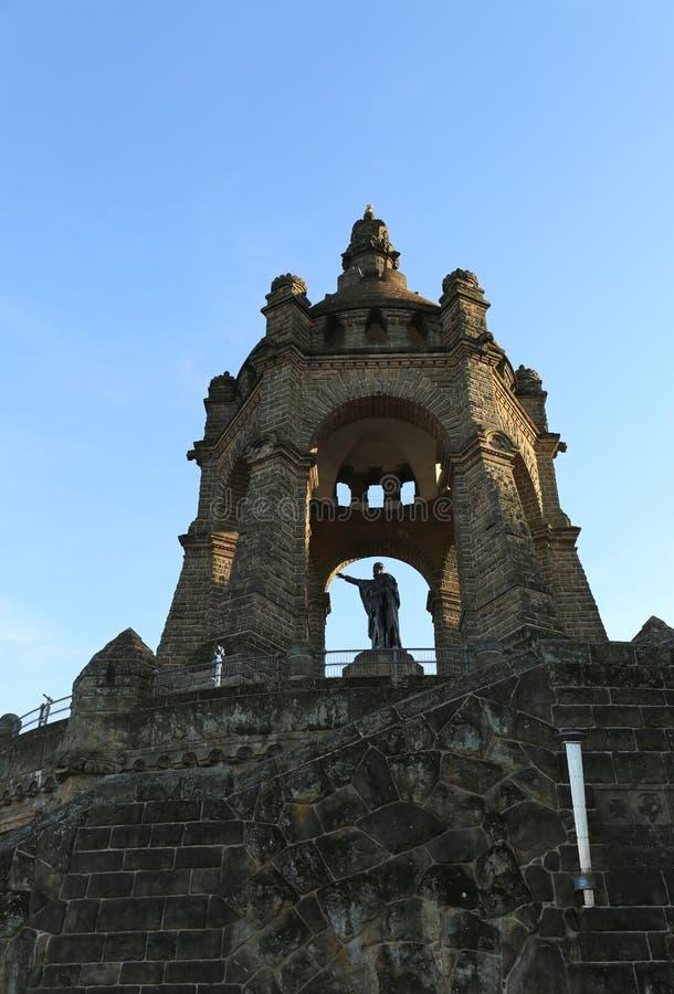 Monument du Kaiser Wilhelm Denkmal photo stock