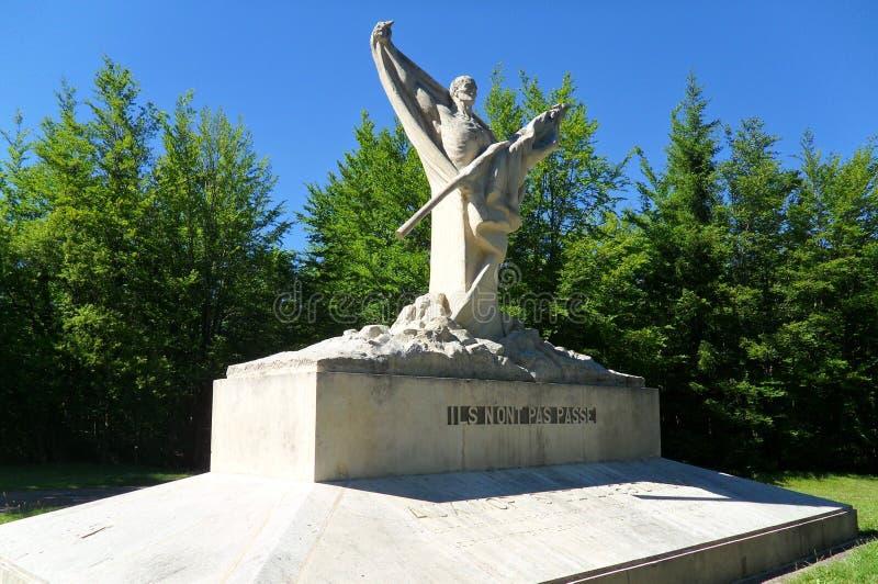 Monument du Mort-Homme fotografering för bildbyråer
