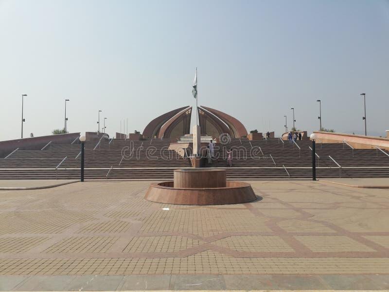 Monument du Pakistan photo libre de droits