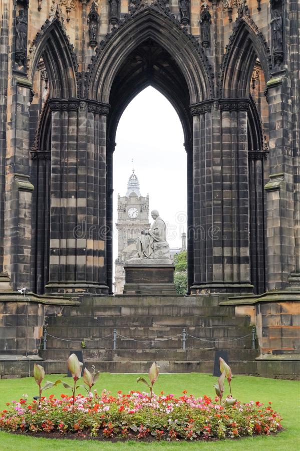 monument Ecosse scott de royaume d'Edimbourg uni images stock