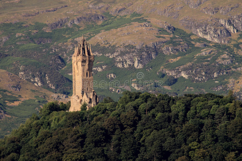monument Ecosse stirling wallace photographie stock