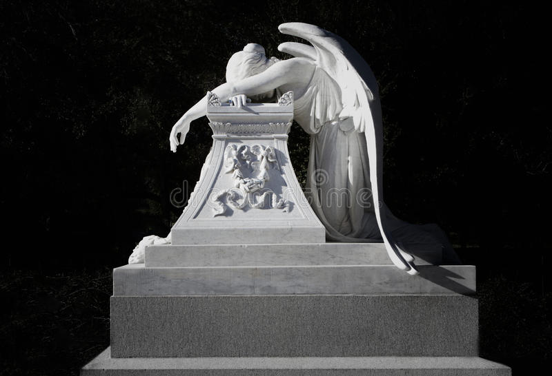 Monument für Henry Lathrop, Bruder zu Jane Lathrop Stanford stockbilder