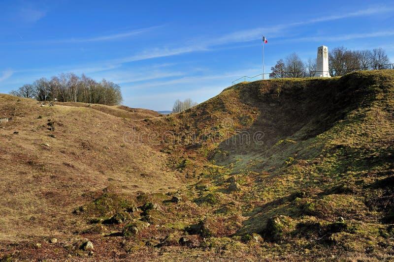 Monument first world war battlefield