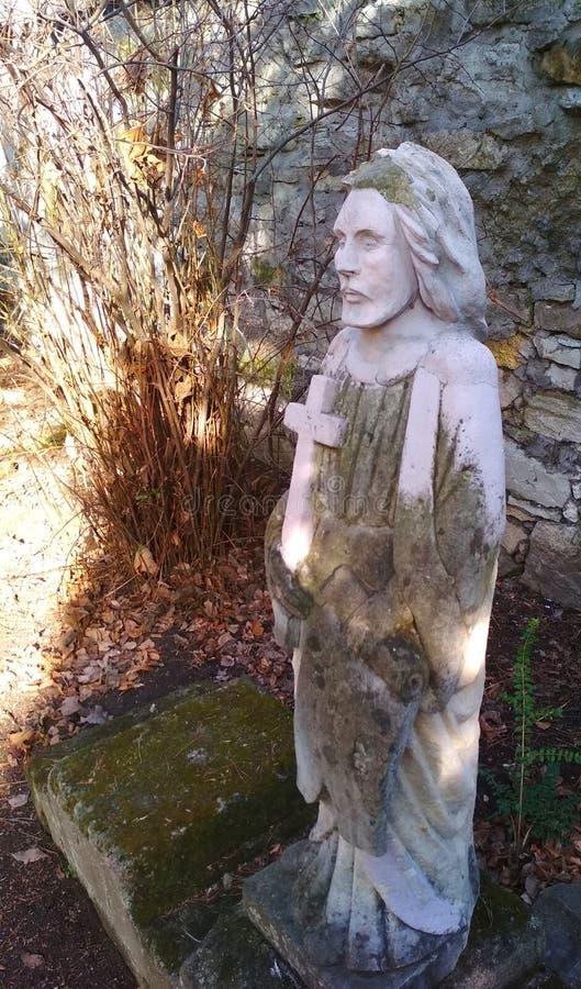 Monument funéraire, connaissance et foi dans Dieu image stock