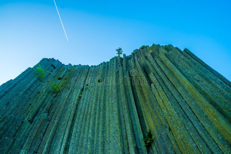 Monument géologique de magma de la roche de Panska, Kamenicky Senov, Herrnhausfelsen, République Tchèque image libre de droits