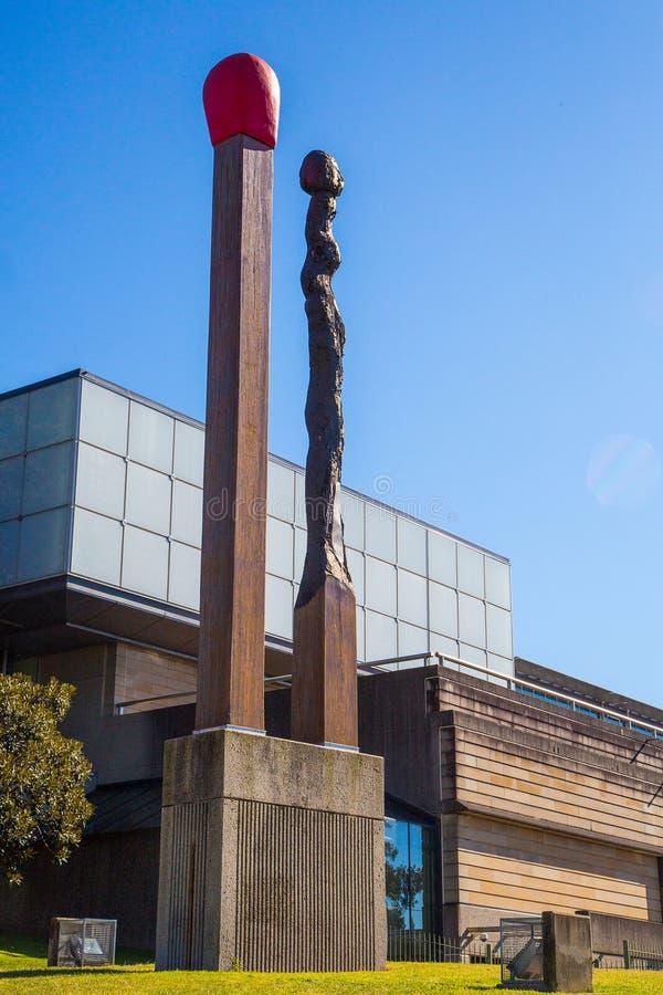 Monument gigantesque de matchs à Sydney image libre de droits