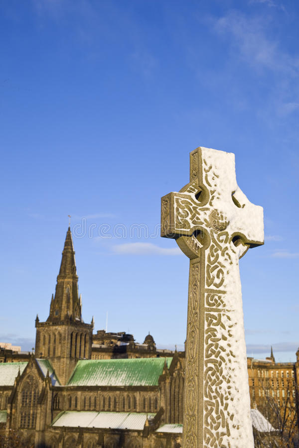 Download Monument And Glasgow Cathedral Stock Photos - Image: 20130603