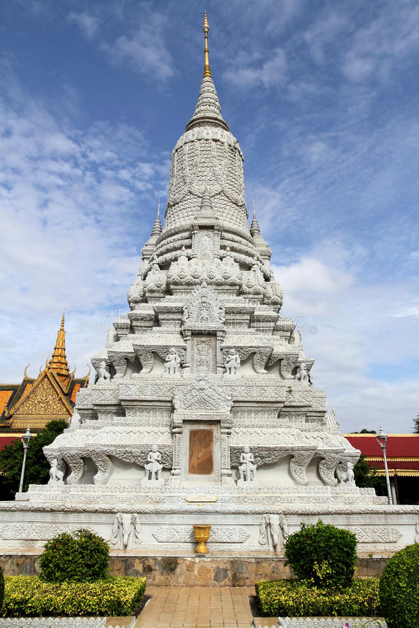 Download Monument At Grand Palace, Cambodia Stock Photo - Image: 21503452