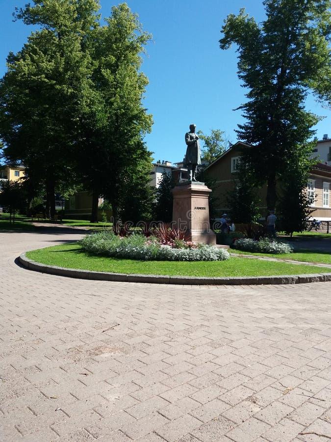Monument in Helsinki stock fotografie