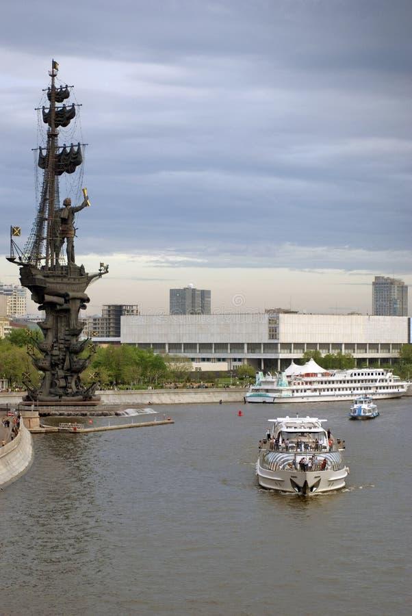 Monument in herdenking van de 300ste verjaardag van de Russische Marine stock foto's