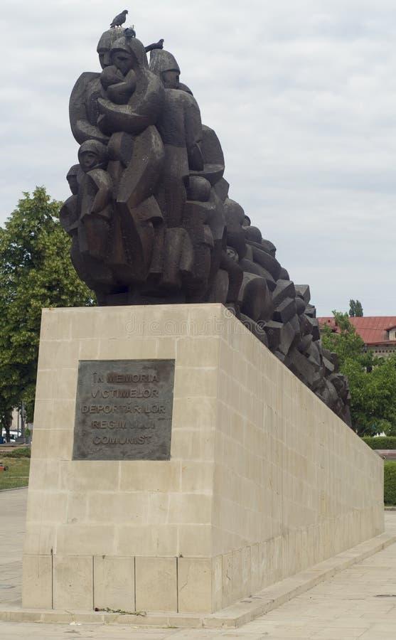 Monument i Chisinau arkivbild