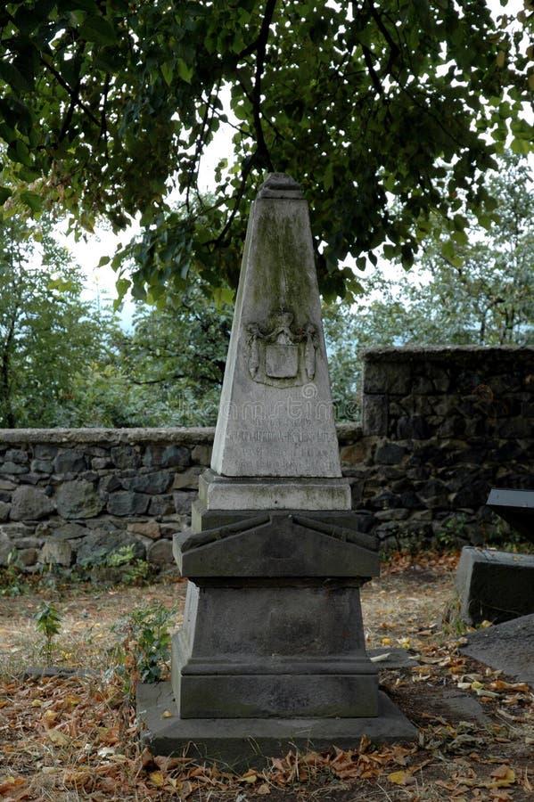 Monument i den Haghpat kyrkan Armenien royaltyfria bilder