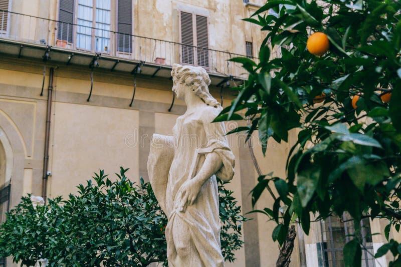 Monument i Florence arkivfoton