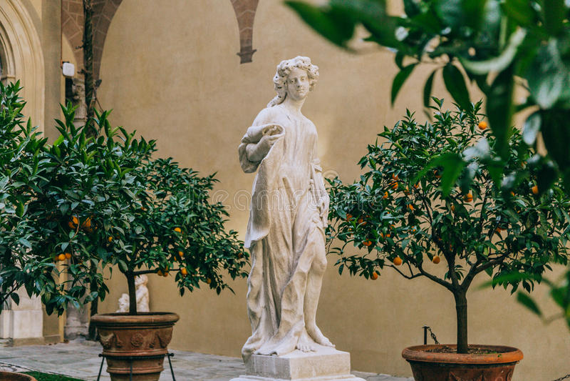 Monument i Florence fotografering för bildbyråer