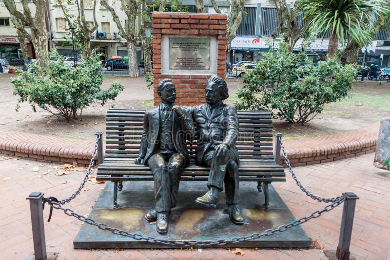 Monument i Montevideo royaltyfri foto