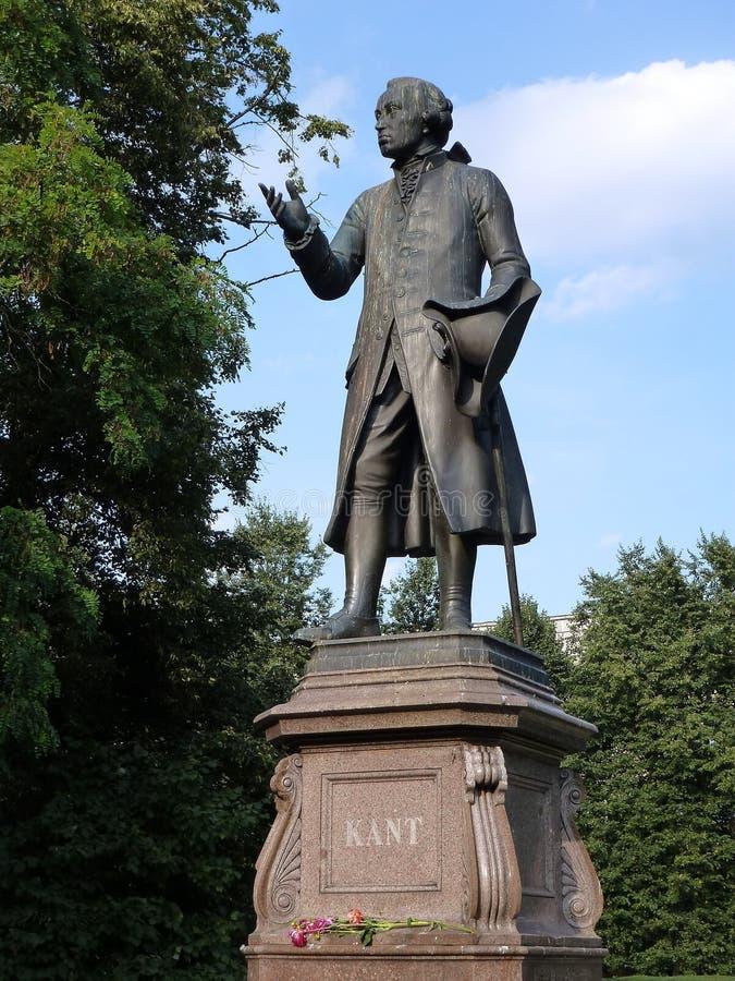 Monument Immanuel Kant à Kaliningrad photos libres de droits