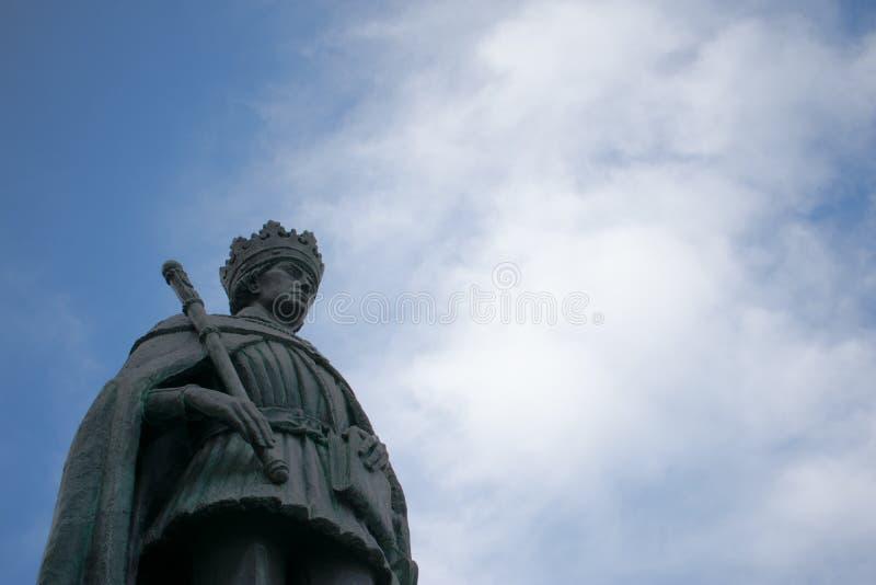 Monument Königs D Duarte-Statue stockfoto