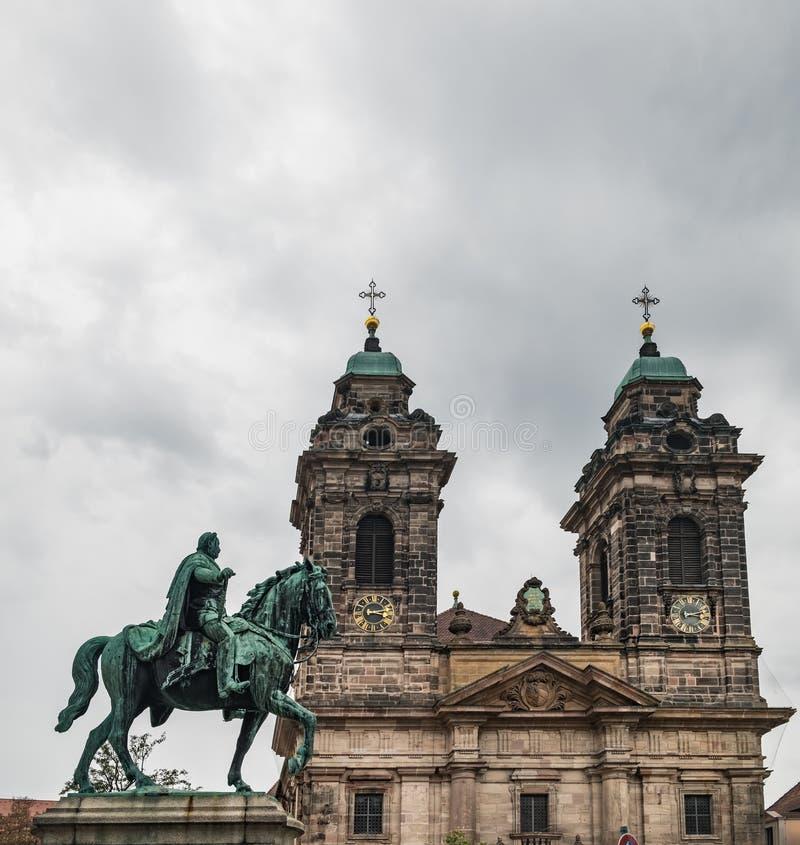 Monument Kaiser Wilhelm I dans Nurnberg, Allemagne photographie stock libre de droits