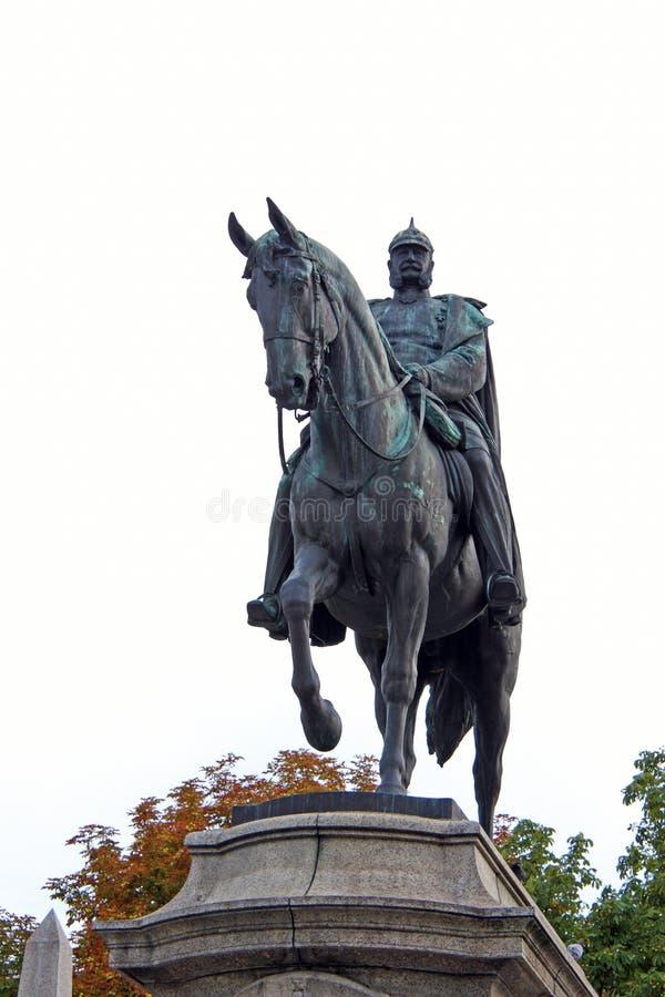 Monument ? Kaiser Wilhelm I image libre de droits