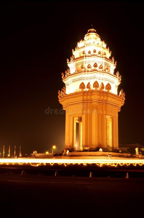 Monument Kambodja royalty-vrije stock foto