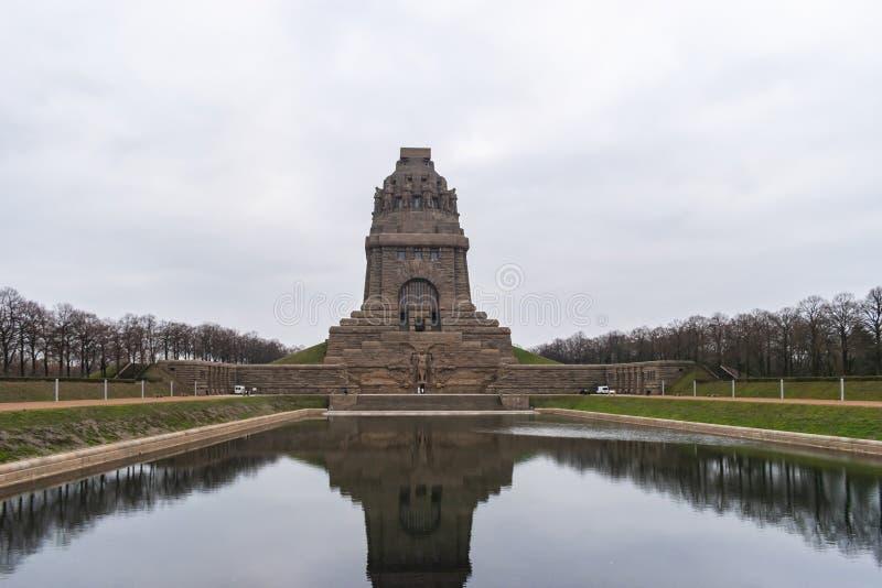 Monument ? la bataille des nations photos libres de droits