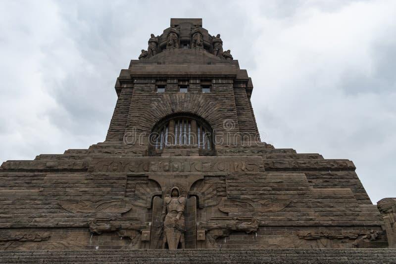 Monument ? la bataille des nations images stock