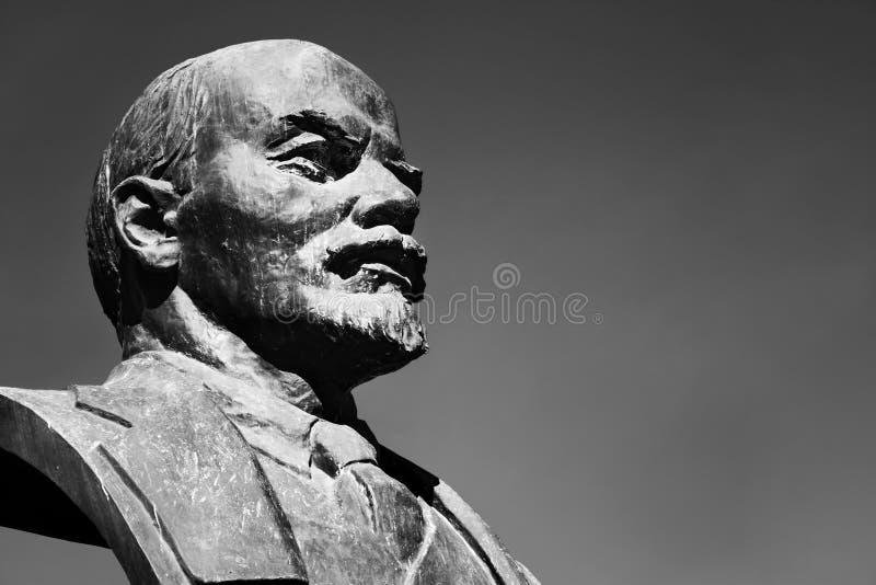 Monument of Lenin royalty free stock photo