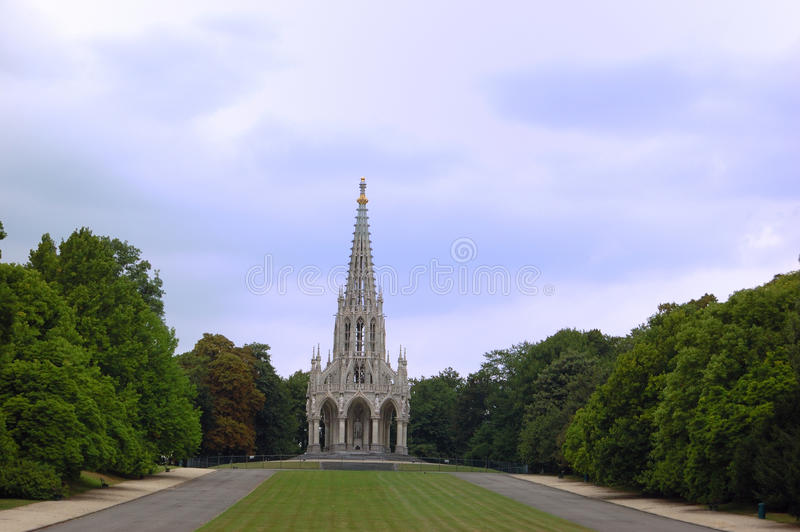 Monument Of Leopold 1 - Brussels Royalty Free Stock Photo