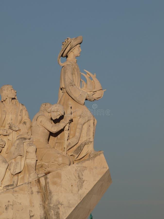 Monument Lisbonne de découvertes photo libre de droits