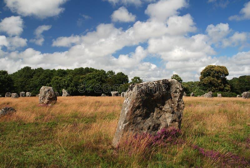 Monument mégalithique dans Brittany photos stock