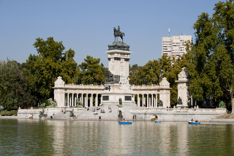 Monument In Madrid Royalty Free Stock Photos